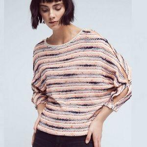 Anthropologie Postmark Malu Cold Shoulder Sweater